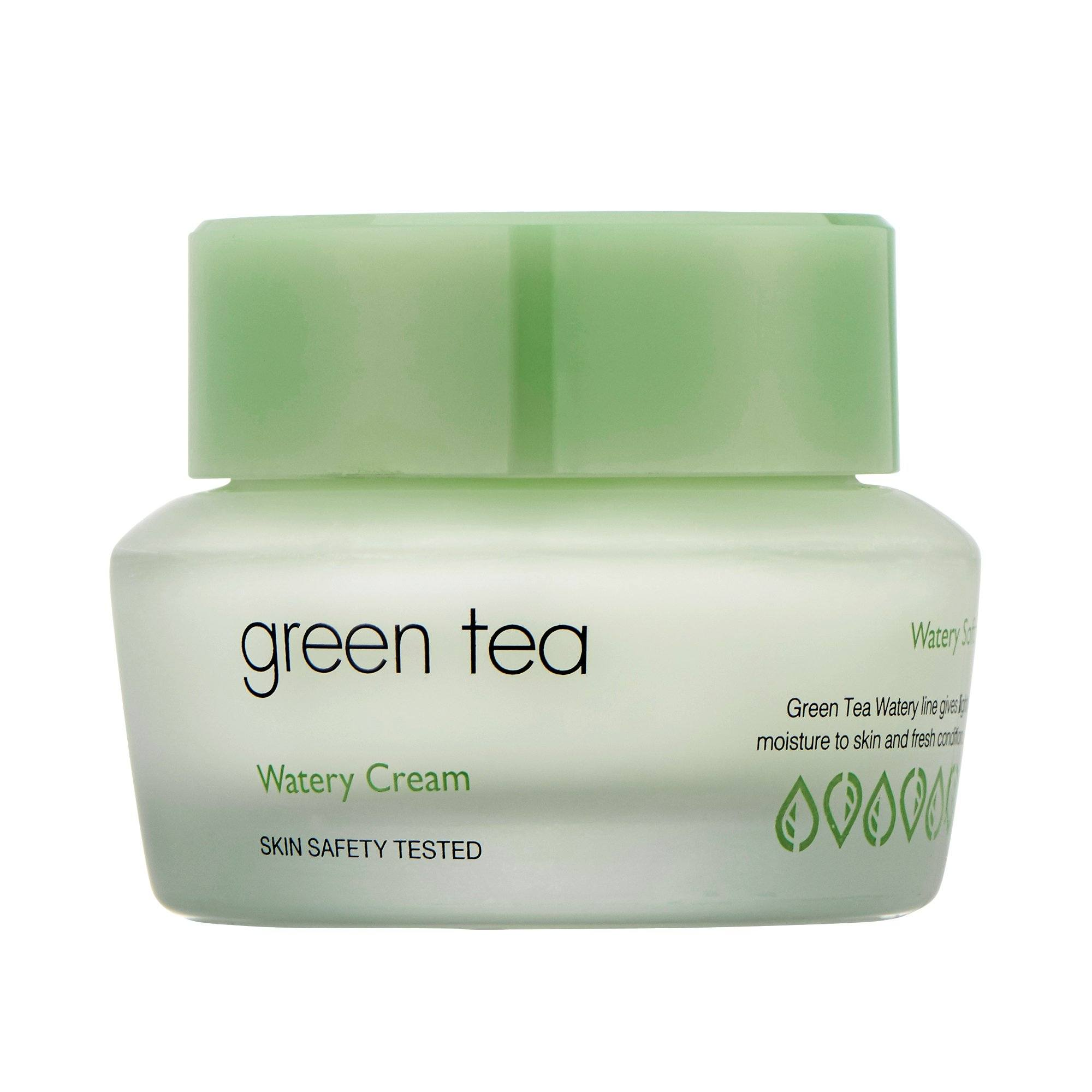 Health & Beauty > Personal Care > Cosmetics > Skin Care > Lotion & Moisturizer - Green Tea Watery Cream Krem Do Twarzy 50 Ml