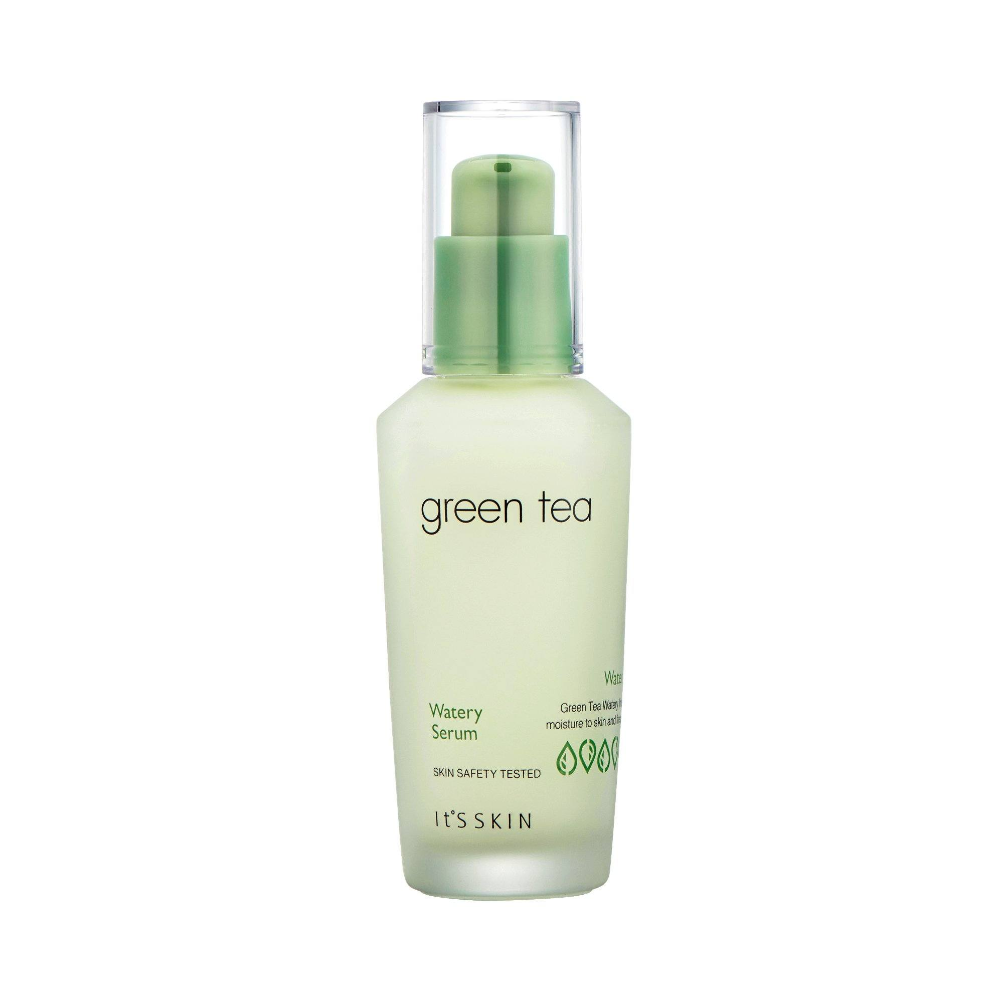 Health & Beauty > Personal Care > Cosmetics > Skin Care > Lotion & Moisturizer - Green Tea Watery Serum Do Twarzy 40 Ml