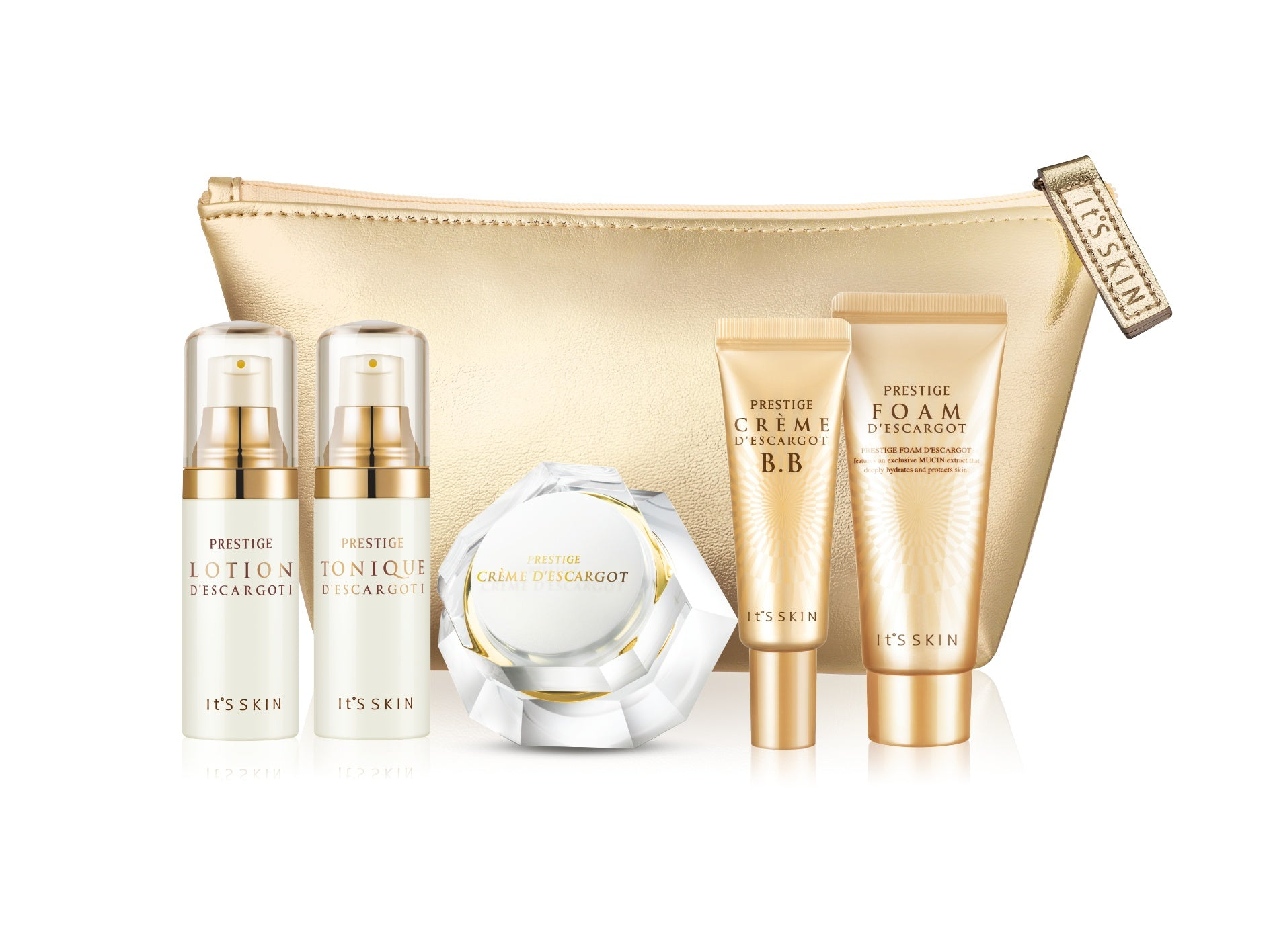 Health & Beauty > Personal Care > Cosmetics > Skin Care > Lotion & Moisturizer - Prestige D'Escargot Special Set Zestaw Mini-produktów