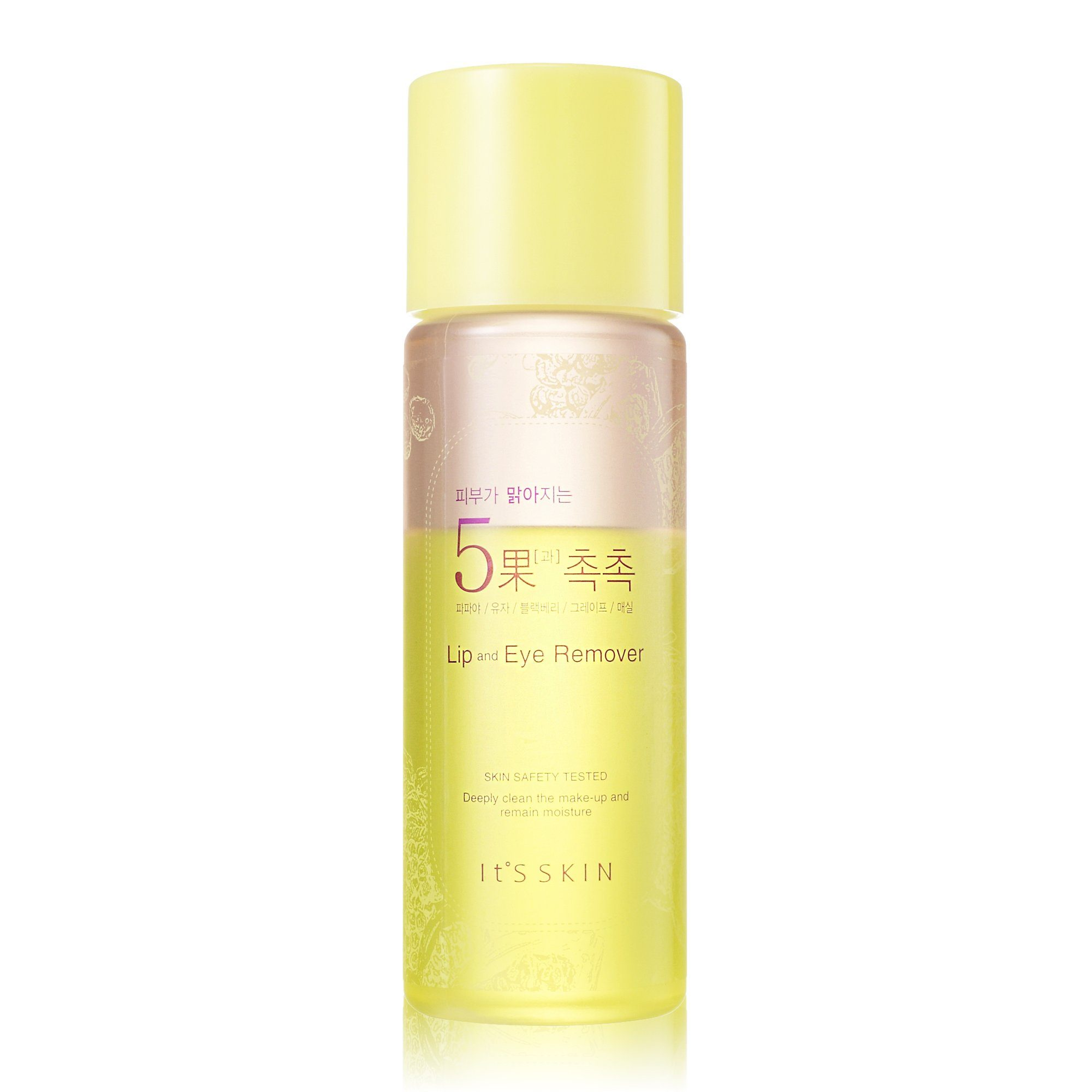 Health & Beauty > Personal Care > Cosmetics > Skin Care > Makeup Removers - Brightening 5 Fruits Lip & Eye Remover Płyn Do Demakijażu 145 Ml