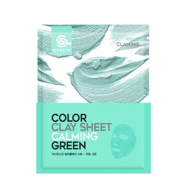 Health & Beauty > Personal Care > Cosmetics > Skin Care > Skin Care Masks & Peels - Color Clay Sheet - Calming Green Maska Do Twarzy