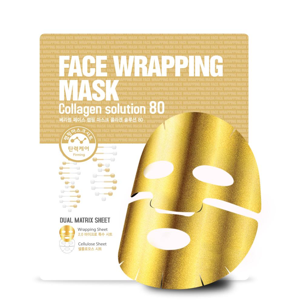 Health & Beauty > Personal Care > Cosmetics > Skin Care > Skin Care Masks & Peels - Face Wrapping Mask Collagen Solution 80 Maska Do Twarzy