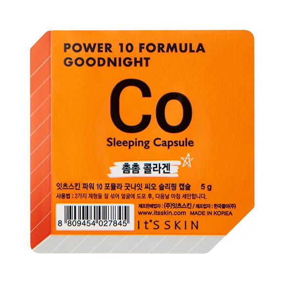 Health & Beauty > Personal Care > Cosmetics > Skin Care > Skin Care Masks & Peels - Power 10 Formula Good Night Sleeping Capsule CO Maska W Kapsułce