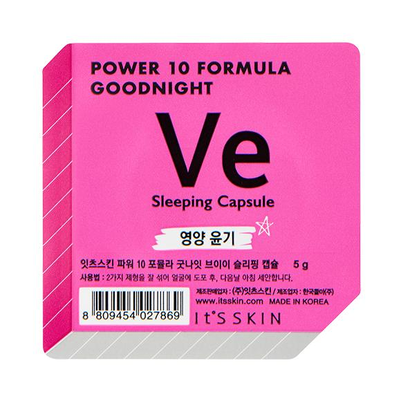 Health & Beauty > Personal Care > Cosmetics > Skin Care > Skin Care Masks & Peels - Power 10 Formula Good Night Sleeping Capsule VE Maska W Kapsułce