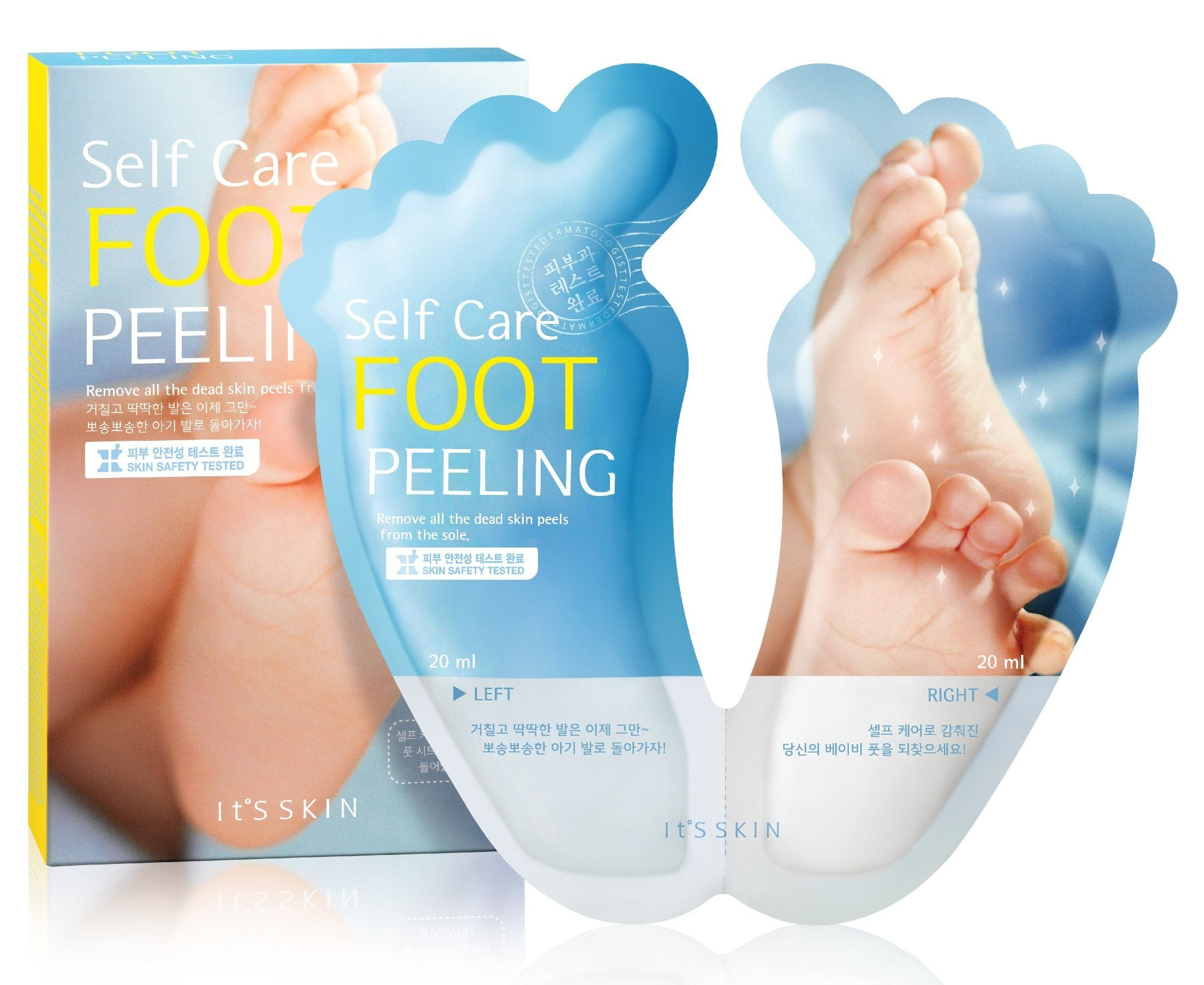 Health & Beauty > Personal Care > Cosmetics > Skin Care > Skin Care Masks & Peels - Self Care Foot Peeling Do Stóp