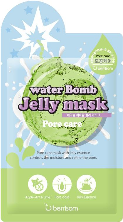 Health & Beauty > Personal Care > Cosmetics > Skin Care > Skin Care Masks & Peels - Water Bomb Jelly Mask 04 Pore Care Maska Do Twarzy
