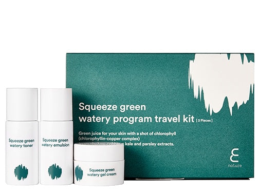 Health & Beauty > Personal Care > Cosmetics > Skin Care - Squeeze Green Program Travel Kit Zestaw Mini Kosmetyków