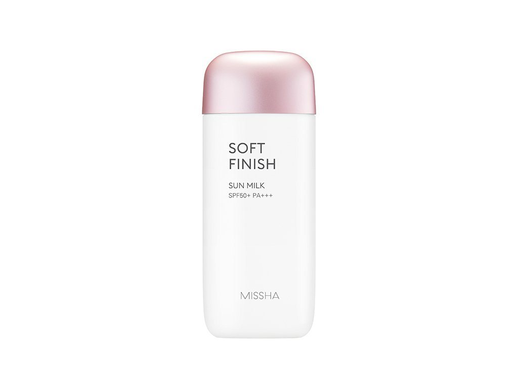 Health & Beauty > Personal Care > Cosmetics > Skin Care > Sunscreen - All Around Safe Block Soft Finish Sun Milk SPF50+/PA+++ 70 Ml
