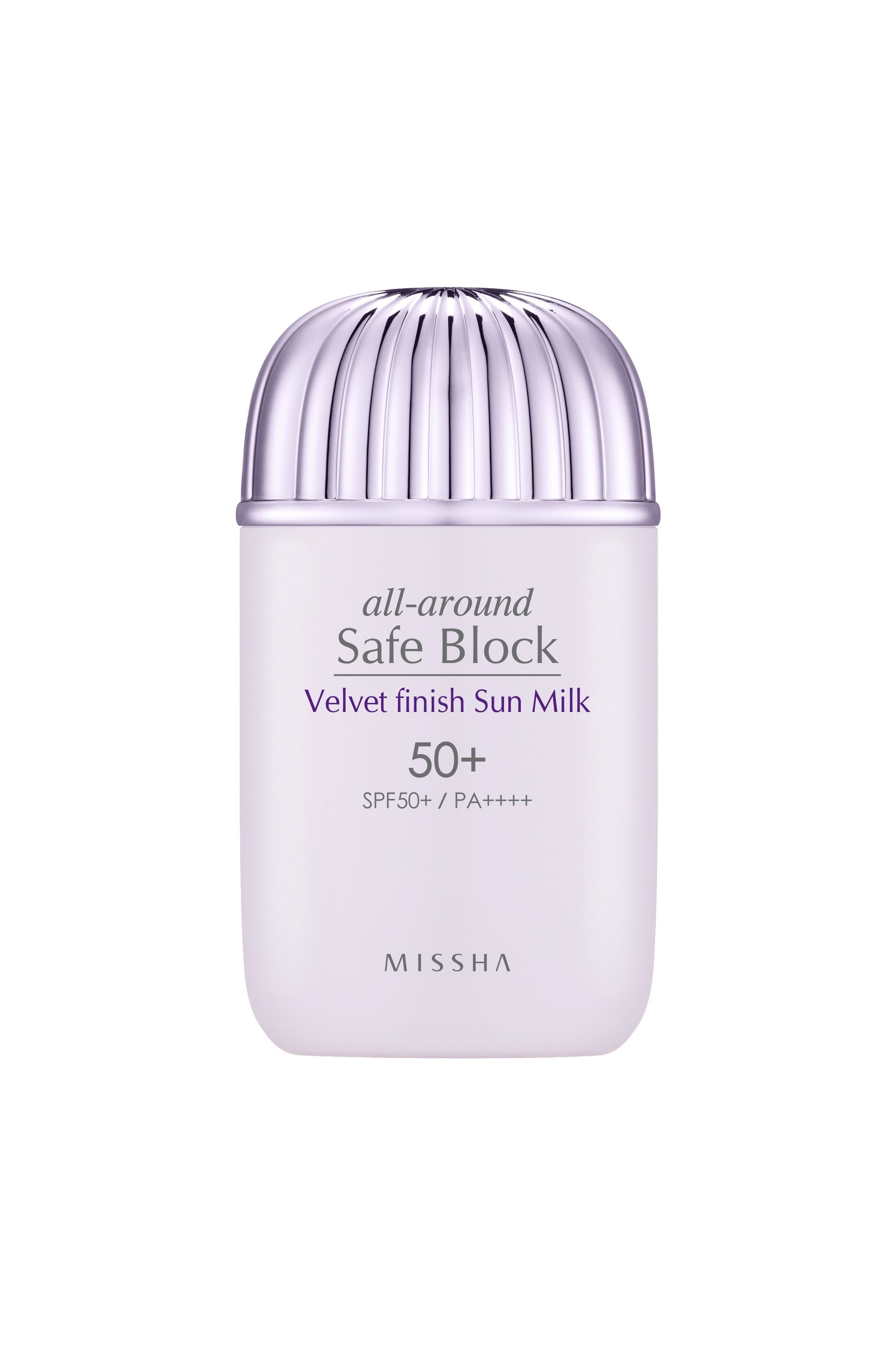 Health & Beauty > Personal Care > Cosmetics > Skin Care > Sunscreen - All Around Safe Block Velvet Finish Sun Milk 50+/PA+++ 40 Ml