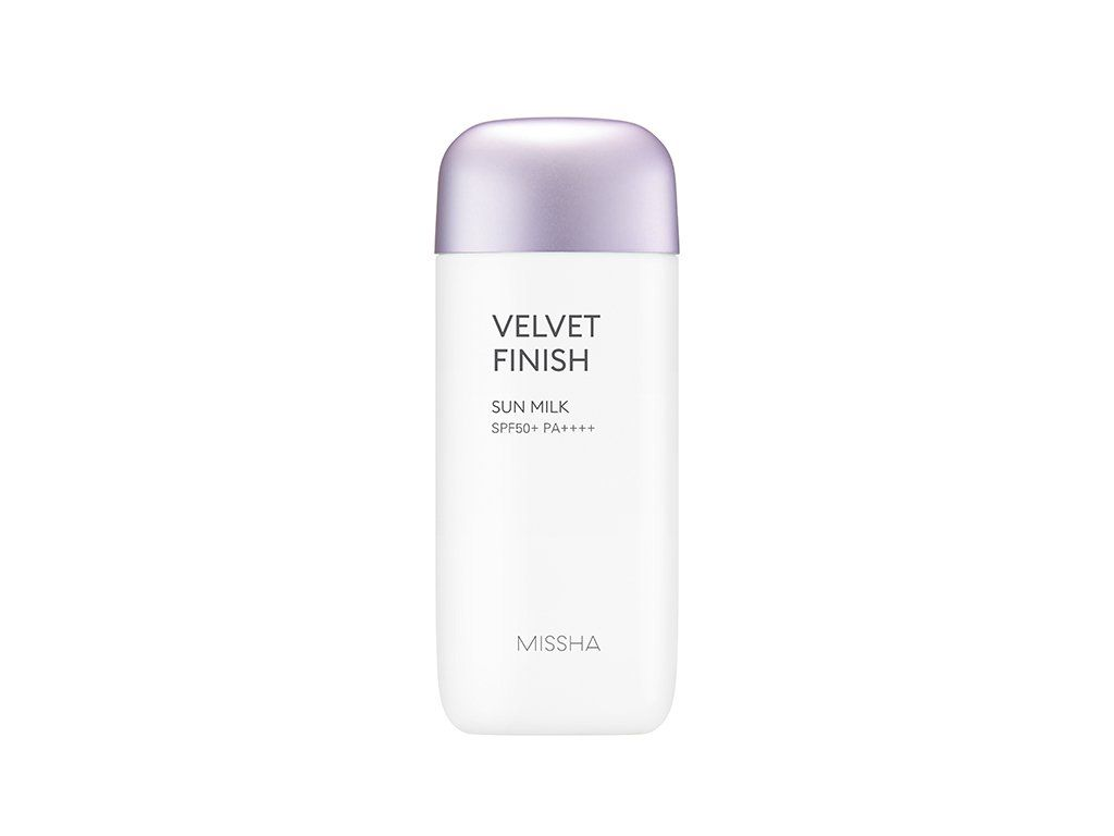 Health & Beauty > Personal Care > Cosmetics > Skin Care > Sunscreen - All Around Safe Block Velvet Finish Sun Milk SPF50+/PA+++ 70 Ml