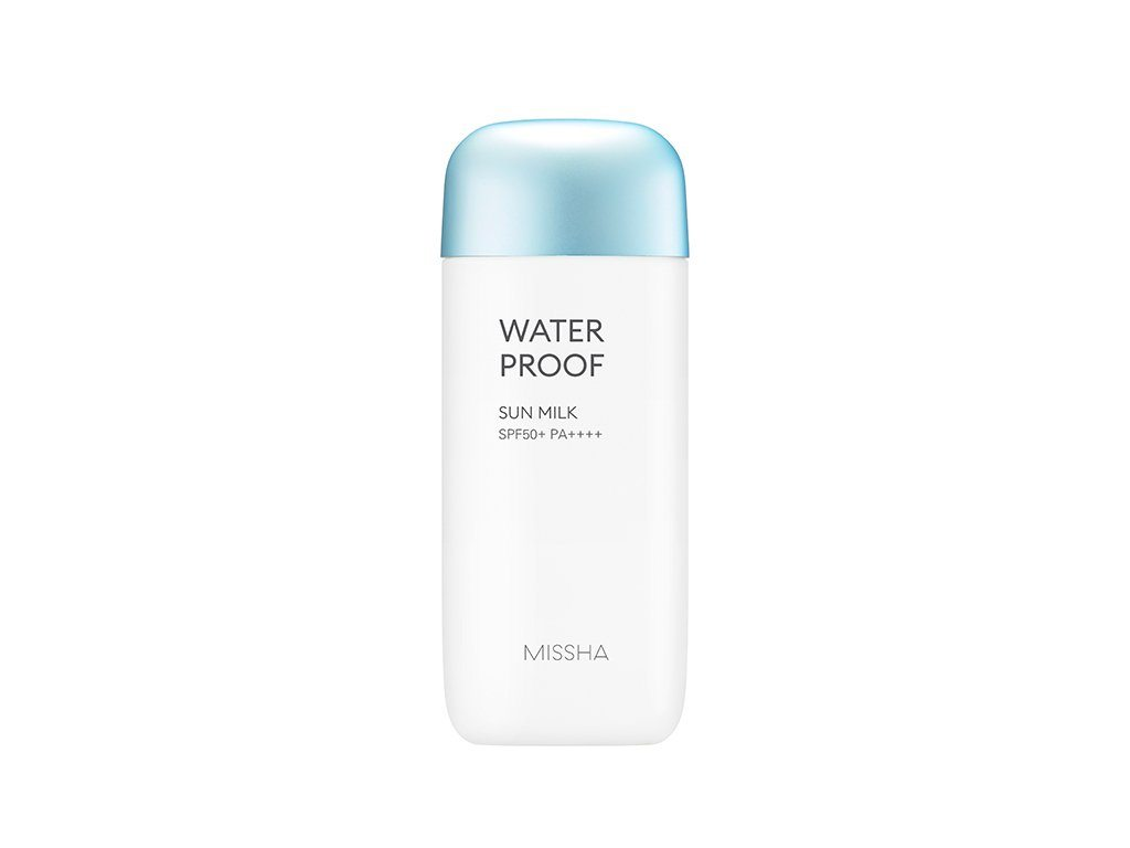 Health & Beauty > Personal Care > Cosmetics > Skin Care > Sunscreen - All Around Safe Block Waterproof Sun Milk SPF50+/PA+++ 70 Ml