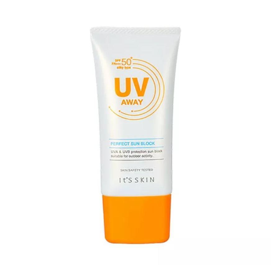 Health & Beauty > Personal Care > Cosmetics > Skin Care > Sunscreen - UV Away Perfect Sun Block SPF 50+/PA+++ Krem Przeciwsłoneczny 50 Ml