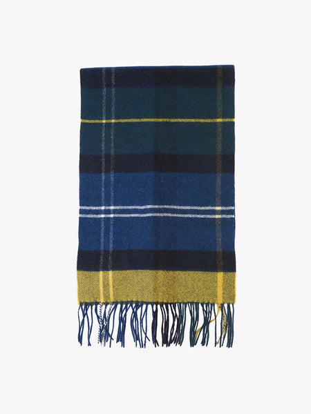 Barbour Inverness Tartan Scarf - Seaweed