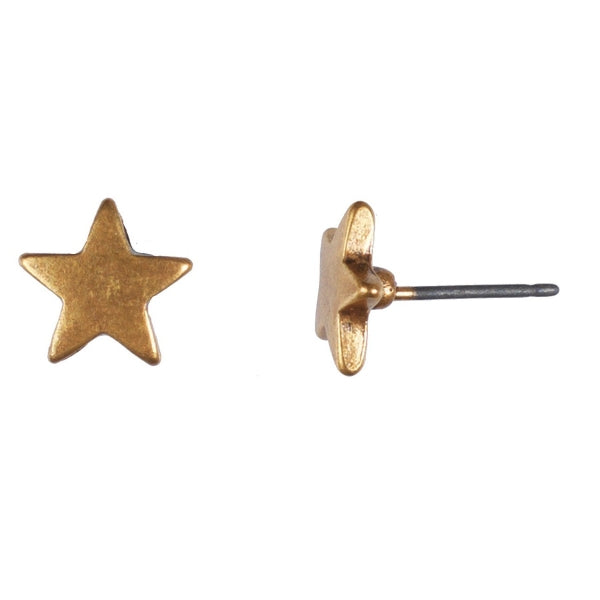Hultquist Star Stud Earring - Gold
