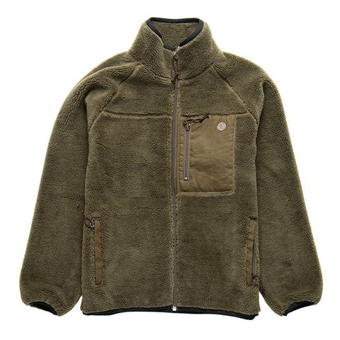 Deus Ex Machina Mackay Fleece - Olive Green