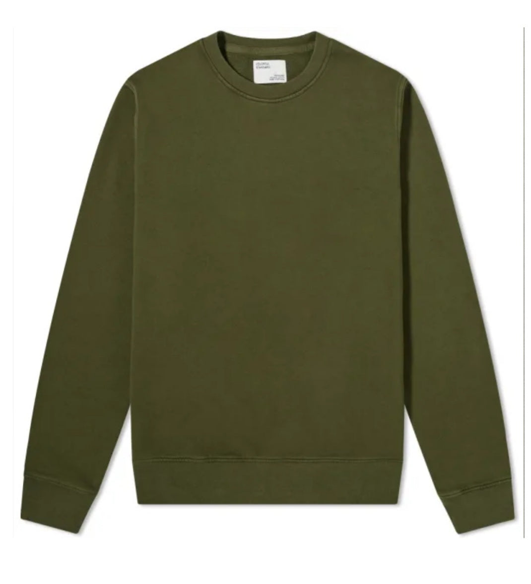 Colorful Standard Classic Organic Crew Neck Sweat - Seaweed green