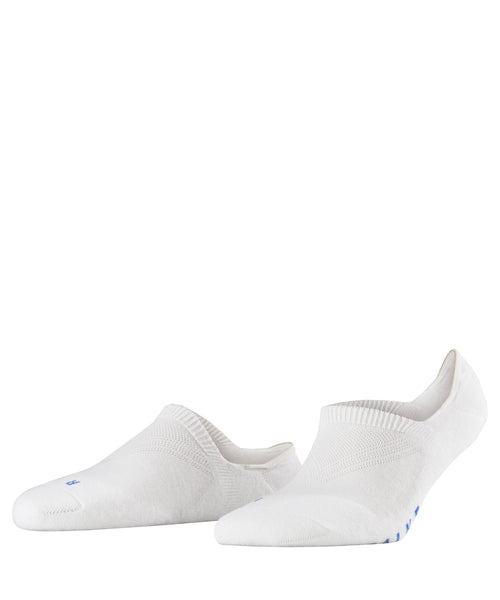 FALKE Cool Kick No Show Sock - White