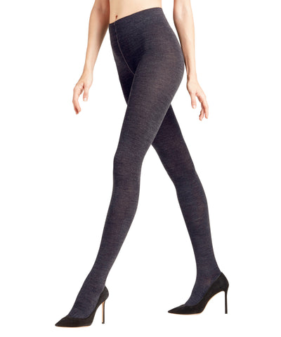Falke Soft Merino Tights - Dark Navy