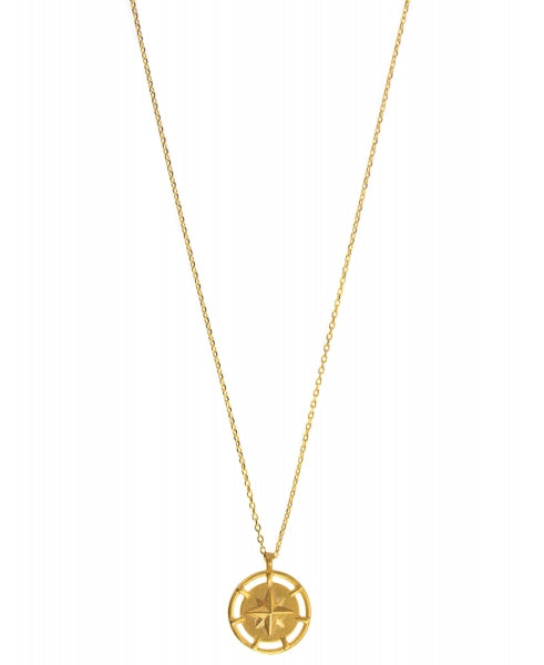 Hultquist Northern Star Necklace - Gold