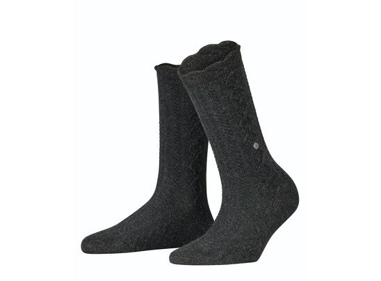 Burlington Country Boot Sock - Anthracite