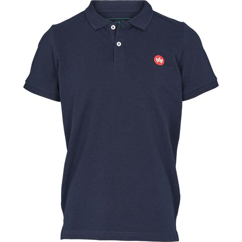Kronstadt Albert Recycled Cotton Polo - Navy