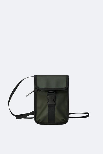 Rains Buckle Money Pouch - Green
