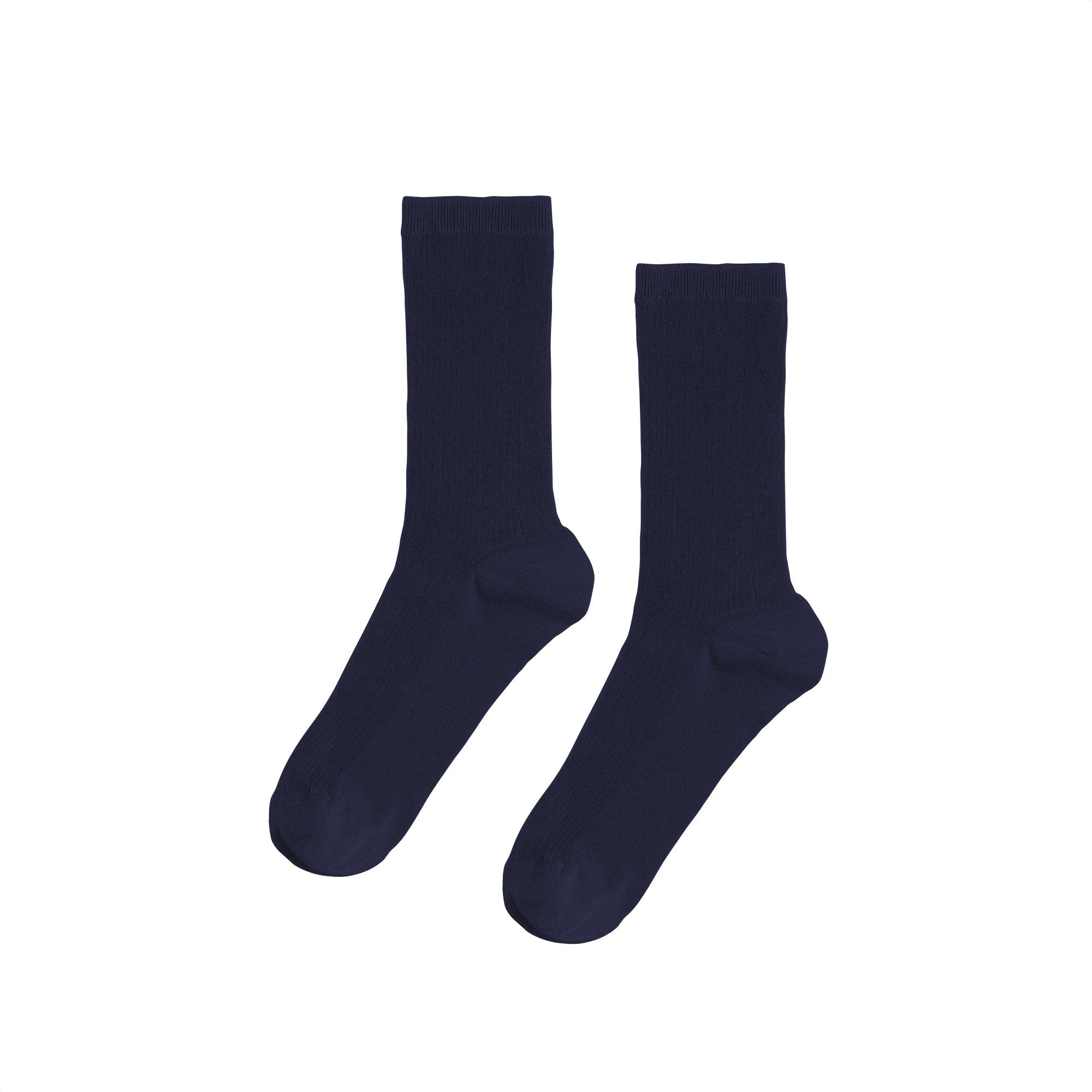 Colorful Standard Women's Organic Socks - Navy Blue