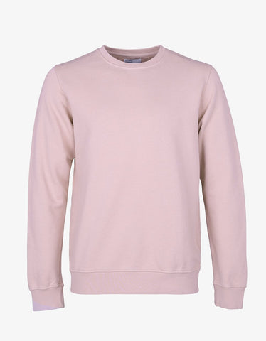 Colorful Standard Sweatshirt Faded Pink