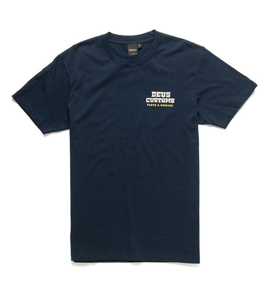 Deus Ex Machina Automatica T- Shirt - Midnight Blue