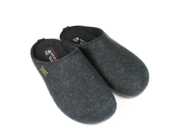 Haflinger - Fundus Slipper Graphite