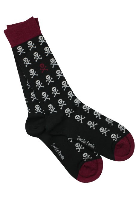 Skull Socks - Black