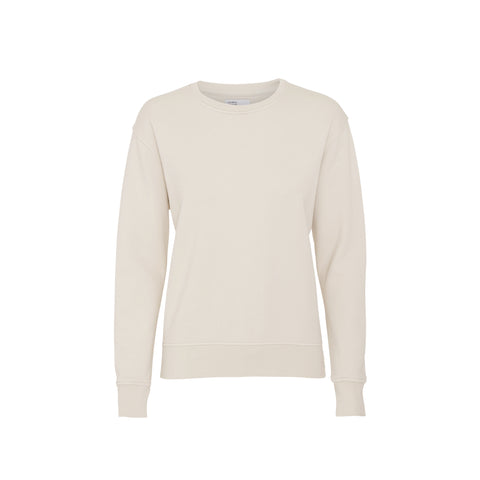 Colorful Standard Classic Organic Crew Neck Sweat - Ivory White