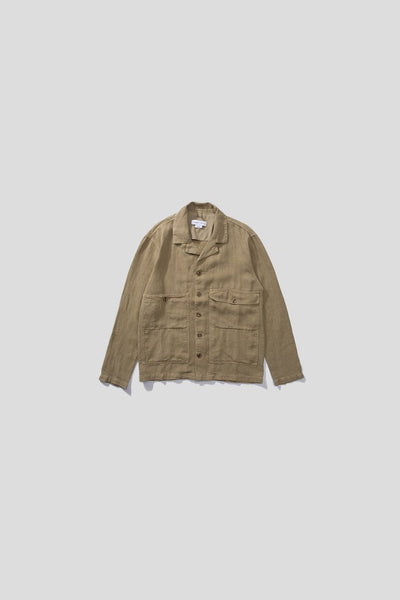 Edmmond Linen Jacket - Tan