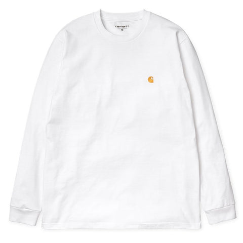 L/S Chase Tee - White