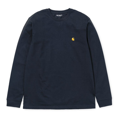 Carhartt L/S Chase Tee - Navy
