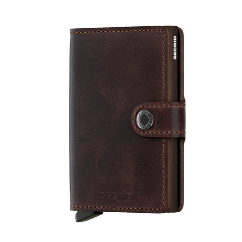 Secrid Miniwallet Vintage - Chocolate