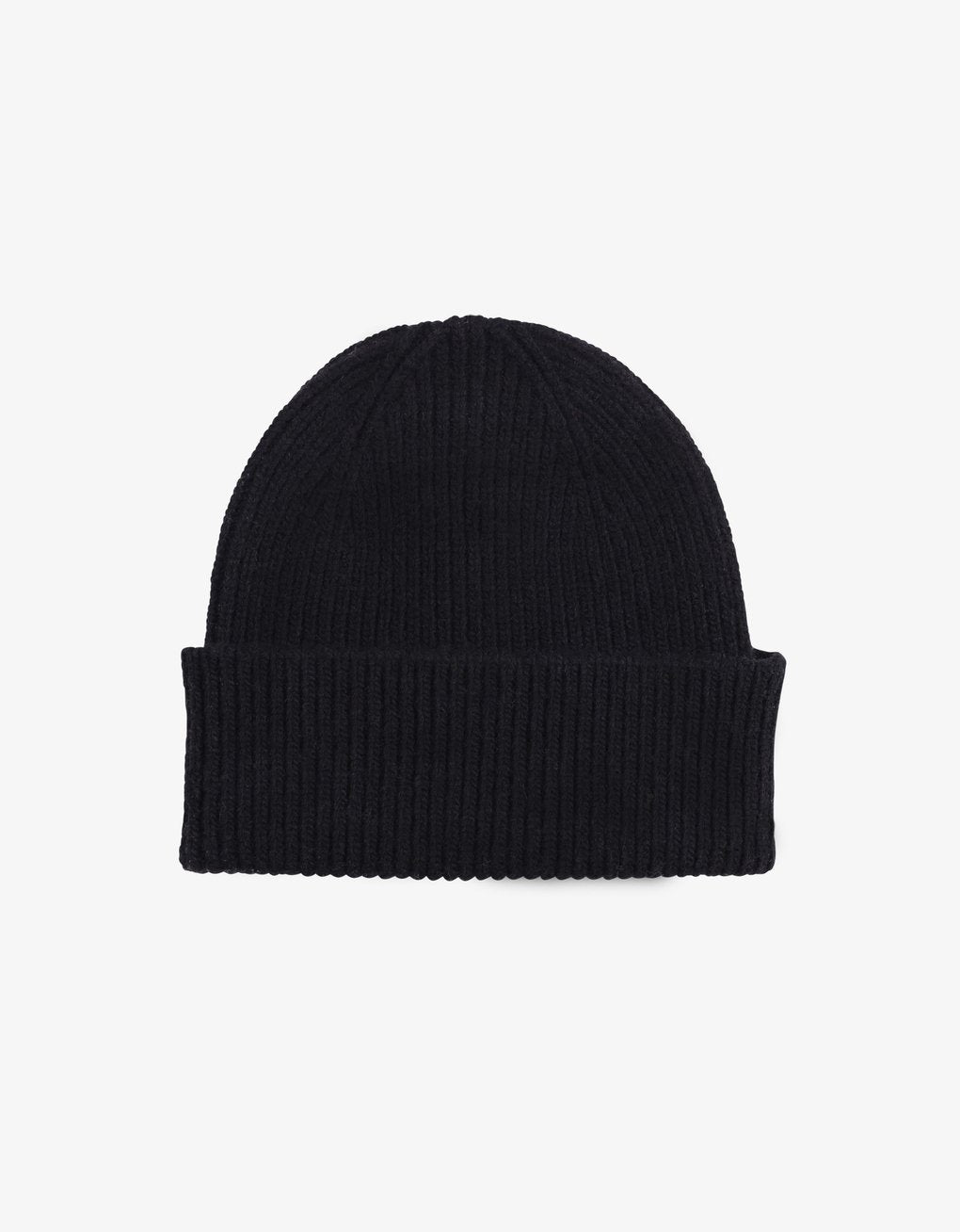 Colorful standard Beanie - Deep Black