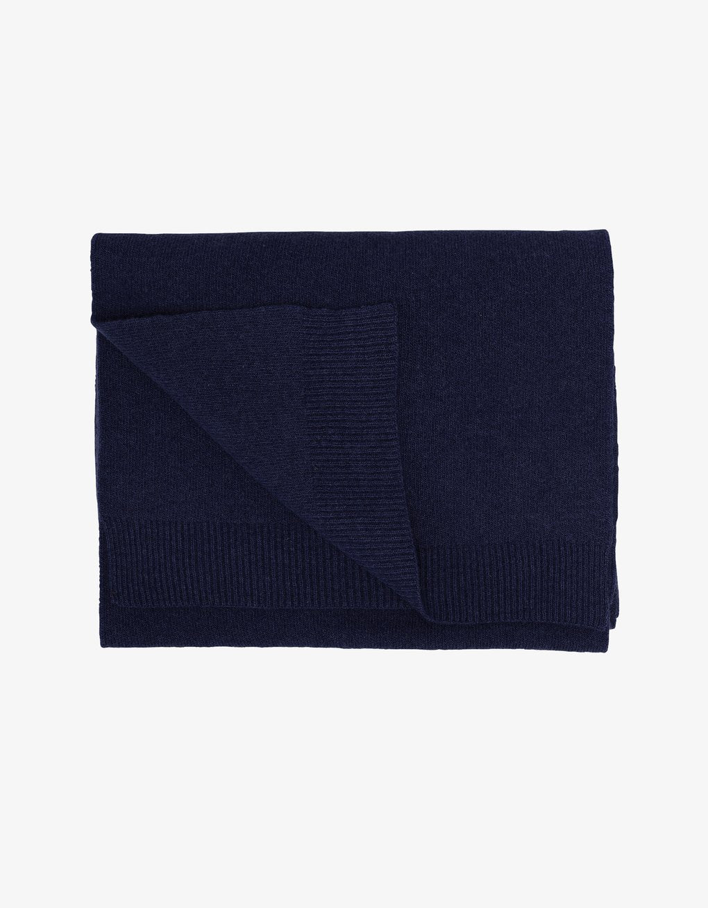 Colorful standard Merino Scarf - Navy Blue