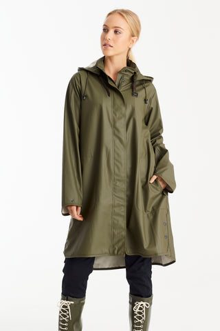 Waterproof Raincoat - Army