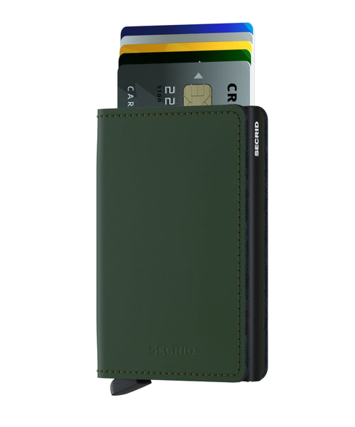 Secrid Slimwallet Matte Green-Black