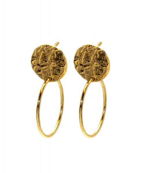 Hultquist Cora Hoop Earrings - Gold