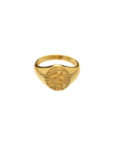 Hultquist Signet Ring - Gold