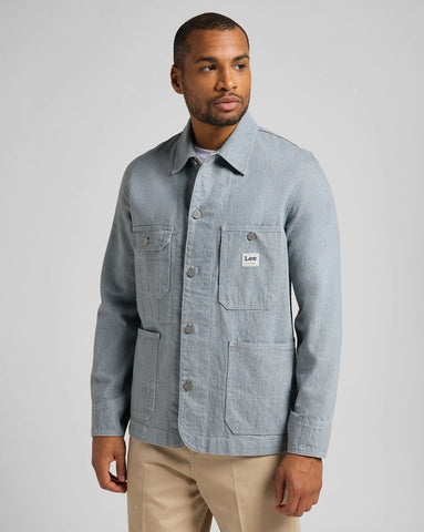 Lee Box Pocket Loco Jacket - Rinse