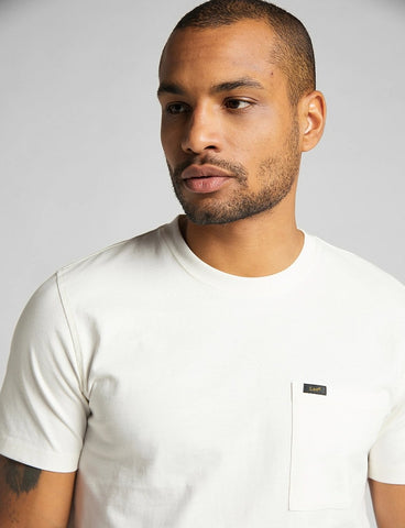 Lee S/S Pocket Tee - Ecru