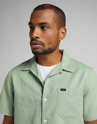 Lee S/S resort Shirt - Granite Green