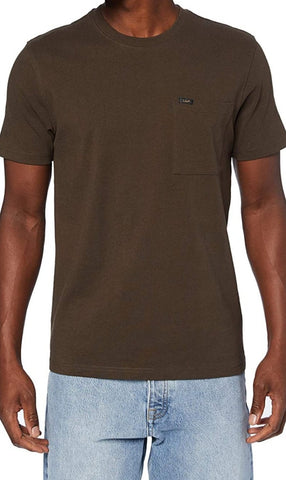 Lee S/S Pocket Tee - Turkish Coffee
