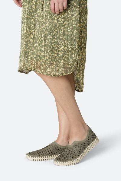 Ilse Jacobsen Tulip Slip-on  - Army