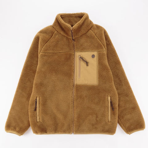 Deus Ex Machina Mackay Fleece - Bistre Tan