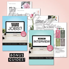 Load image into Gallery viewer, 2) Digital Guide & Templates + Tailored Feedback on your Finished Documents. - New Confidence - Experienced Resume Writer & Coach