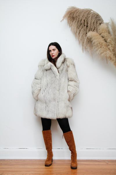 80's Saga Fox Fur Coat